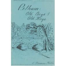 Pelham: Old Days & Old Ways
