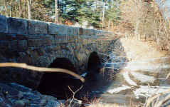 Abbott Bridge (South Bridge) Double Arch Stone Bridge, Pelham, NH Restoration