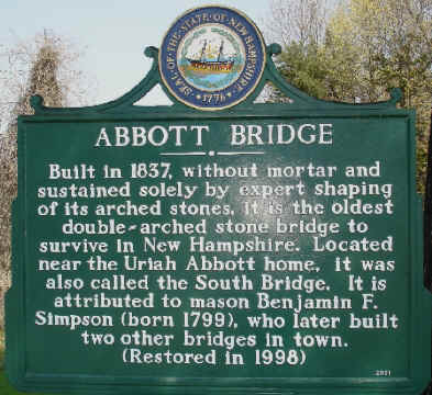 Abbot Pridge Pelham NH
