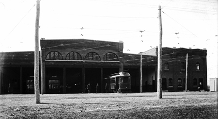 Pelham, NH Trolley Car Barn